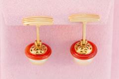 Ella Gafter Ella Gafter Golden Pearl Ladies Cufflinks - 1030052