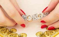 Ella Gafter Ella Gafter Golden South Sea Pearl and Diamond Bracelet - 1009679