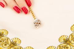 Ella Gafter Ella Gafter Golden Yellow Sapphire Diamond Line Color Bracelet - 1117862