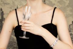 Ella Gafter Ella Gafter Ruby and Diamond Bracelet - 1117673