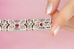 Ella Gafter Ella Gafter Ruby and Diamond Bracelet - 1117674