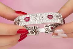 Ella Gafter Ella Gafter Ruby and Diamond Bracelet - 1117675