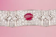 Ella Gafter Ella Gafter Ruby and Diamond Bracelet - 1117680