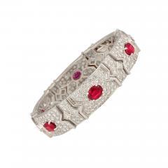 Ella Gafter Ella Gafter Ruby and Diamond Bracelet - 1118038