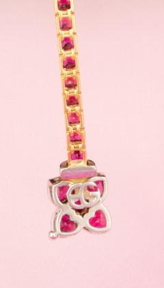 Ella Gafter Ella Gafter Ruby and Diamond Bracelet - 1120250
