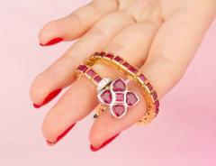 Ella Gafter Ella Gafter Ruby and Diamond Bracelet - 1120252