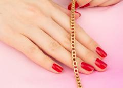 Ella Gafter Ella Gafter Ruby and Diamond Bracelet - 1120255