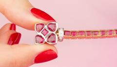 Ella Gafter Ella Gafter Ruby and Diamond Bracelet - 1120259
