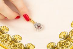 Ella Gafter Ella Gafter Sapphire Diamond Line Color Bracelet - 1117769