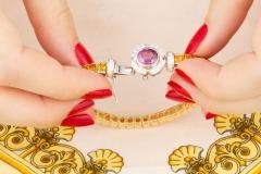 Ella Gafter Ella Gafter Sapphire Diamond Line Color Bracelet - 1117770