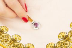 Ella Gafter Ella Gafter Sapphire Diamond Line Color Bracelet - 1117771