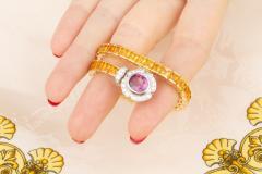 Ella Gafter Ella Gafter Sapphire Diamond Line Color Bracelet - 1117772