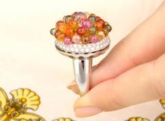Ella Gafter Ella Gafter Sapphire Diamond Tutti Frutti Ring - 1195425