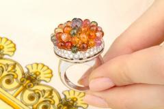 Ella Gafter Ella Gafter Sapphire Diamond Tutti Frutti Ring - 1195428