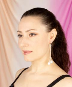 Ella Gafter Ella Gafter South Sea Pearl Diamond Drop Earrings - 1185318