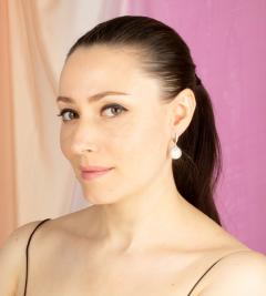 Ella Gafter Ella Gafter South Sea Pearl and Diamond Drop Earrings - 1169834
