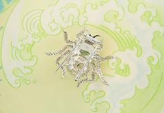 Ella Gafter Ella Gafter South Sea Pearl and Diamond Spider Brooch Pin - 1046579