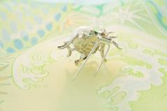Ella Gafter Ella Gafter South Sea Pearl and Diamond Spider Brooch Pin - 1046581