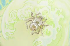 Ella Gafter Ella Gafter South Sea Pearl and Diamond Spider Brooch Pin - 1051541