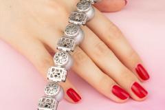 Ella Gafter Ella Gafter Tahitian Pearl and Diamond Bracelet Onyx - 1117643