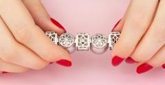 Ella Gafter Ella Gafter Tahitian Pearl and Diamond Bracelet Onyx - 1117644