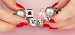 Ella Gafter Ella Gafter Tahitian Pearl and Diamond Bracelet Onyx - 1117645