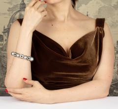 Ella Gafter Ella Gafter Tahitian Pearl and Diamond Bracelet Onyx - 1117651