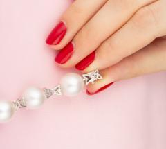 Ella Gafter Ella Gafter White South Sea Pearl and Diamond Bracelet - 1009730