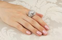 Ella Gafter Ella Gafter Zodiac Cancer Ring with Diamonds - 1021713