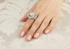 Ella Gafter Ella Gafter Zodiac Cancer Ring with Diamonds - 1021714