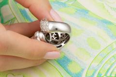 Ella Gafter Ella Gafter Zodiac Leo Ring with Emerald and Diamonds - 1021312