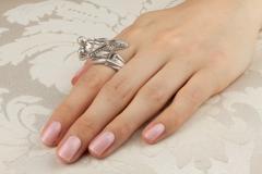 Ella Gafter Ella Gafter Zodiac Sagittarius Ring with Diamonds - 1021680