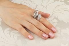 Ella Gafter Ella Gafter Zodiac Sagittarius Ring with Diamonds - 1021681
