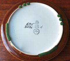 Ellen Malmer Vintage BACA Fajence Plates by Ellen Malmer for Royal Copenhagen Set of Three - 690413