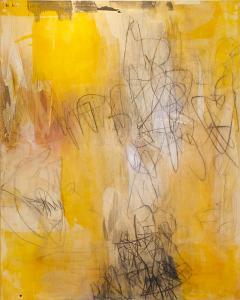 Elliot Twelvetrees American Modern Abstract Expressionist Mixed Media on Board Elliot Twelvetrees - 1352558