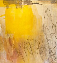 Elliot Twelvetrees American Modern Abstract Expressionist Mixed Media on Board Elliot Twelvetrees - 1352566