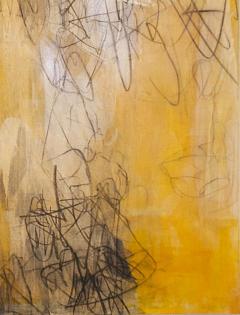 Elliot Twelvetrees American Modern Abstract Expressionist Mixed Media on Board Elliot Twelvetrees - 1352567