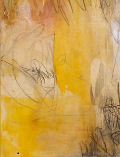 Elliot Twelvetrees American Modern Abstract Expressionist Mixed Media on Board Elliot Twelvetrees - 1352568