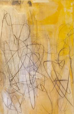 Elliot Twelvetrees American Modern Abstract Expressionist Mixed Media on Board Elliot Twelvetrees - 1352570