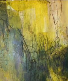 Elliot Twelvetrees American Modern Abstract Expressionist Mixed Media on Board Elliot Twelvetrees - 1350185
