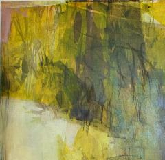 Elliot Twelvetrees American Modern Abstract Expressionist Mixed Media on Board Elliot Twelvetrees - 1350188