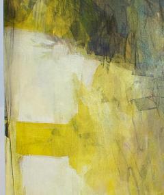Elliot Twelvetrees American Modern Abstract Expressionist Mixed Media on Board Elliot Twelvetrees - 1350199