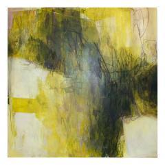 Elliot Twelvetrees American Modern Abstract Expressionist Mixed Media on Board Elliot Twelvetrees - 1350220