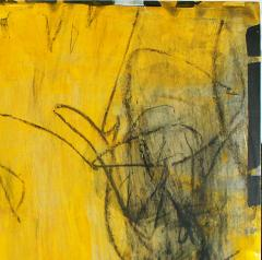 Elliot Twelvetrees American Modern Abstract Expressionist Mixed Media on Board Elliot Twelvetrees - 1349819