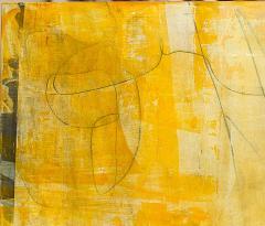 Elliot Twelvetrees American Modern Abstract Expressionist Mixed Media on Board Elliot Twelvetrees - 1349802