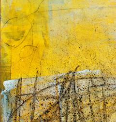 Elliot Twelvetrees American Modern Abstract Expressionist Mixed Media on Board Elliot Twelvetrees - 1349737