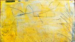 Elliot Twelvetrees American Modern Abstract Expressionist Mixed Media on Board Elliot Twelvetrees - 1349739