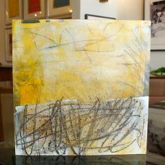 Elliot Twelvetrees American Modern Abstract Expressionist Mixed Media on Board Elliot Twelvetrees - 1349745