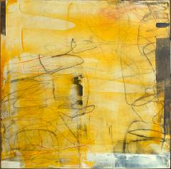 Elliot Twelvetrees American Modern Abstract Expressionist Mixed Media on Board Elliot Twelvetrees - 1343907