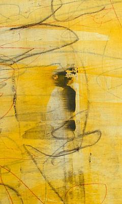 Elliot Twelvetrees American Modern Abstract Expressionist Mixed Media on Board Elliot Twelvetrees - 1349696